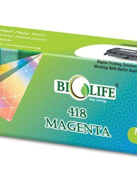 Biolife 418 Magenta Toner Cartridge Compatible For CANON MF 8350Cdn/MF 8380Cdw.