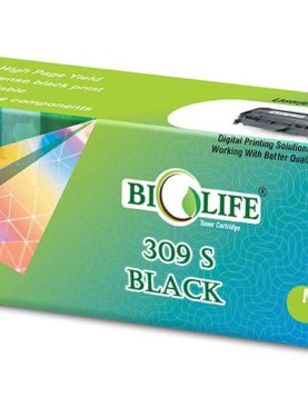 Biolife ML D309S/XIP Black Toner Cartridge Compatible with Samsung ML-551x , 651x Series , ML5510 ND , ML 6510 ND