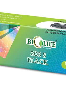 Biolife MLT-D203S/XIP Black Toner Cartridge Compatible with Samsung SL-M3320ND , SL-M2820ND , SL-M4020ND , SL-M3370FD , SL-M3870FD