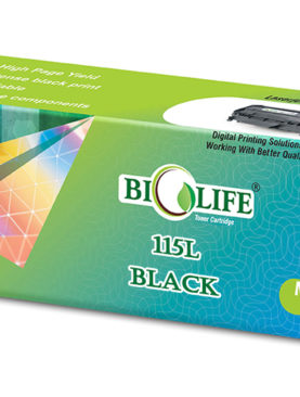 Biolife 115L / MLT-115L Black Compatible Toner Cartridge for Samsung Printer M2620, M2670, M2820, M2870