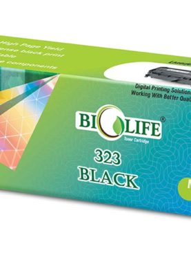 Biolife 323 Black Toner Cartridge Compatible For Canon LASER SHOT LBP7750Cdn.