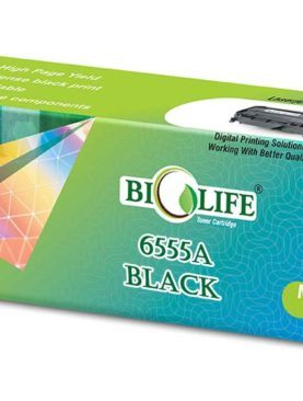 Biolife SCX D6555A/XIP Black Toner Cartridge Compatible with Samsung SCX 6545 , SCX 6555N